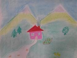 dessin Sigolène maison 1